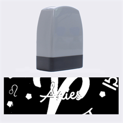 Aries Floating Zodiac Sign Name Stamps