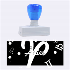 Aries Floating Zodiac Sign Rubber Stamps (large)
