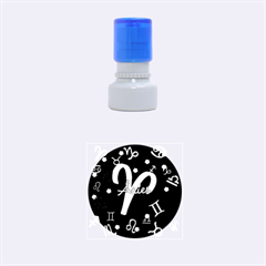 Aries Floating Zodiac Sign Rubber Round Stamps (small)
