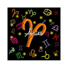 Aries Floating Zodiac Sign Acrylic Tangram Puzzle (6  x 6 )