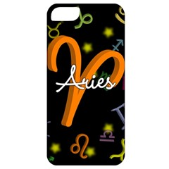 Aries Floating Zodiac Sign Apple iPhone 5 Classic Hardshell Case