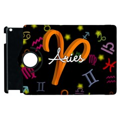 Aries Floating Zodiac Sign Apple iPad 2 Flip 360 Case