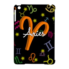 Aries Floating Zodiac Sign Apple iPad Mini Hardshell Case (Compatible with Smart Cover)