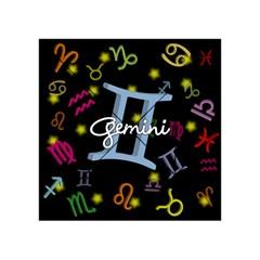 Gemini Floating Zodiac Sign Acrylic Tangram Puzzle (4  x 4 )