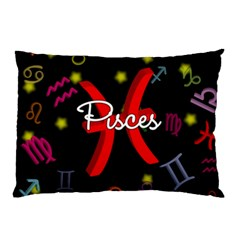 Pisces Floating Zodiac Sign Pillow Cases (Two Sides)