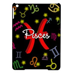 Pisces Floating Zodiac Sign iPad Air Hardshell Cases