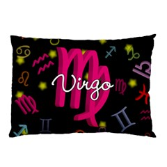 Virgo Floating Zodiac Sign Pillow Cases (Two Sides)
