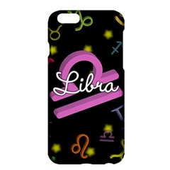 Libra Floating Zodiac Name Apple iPhone 6 Plus/6S Plus Hardshell Case