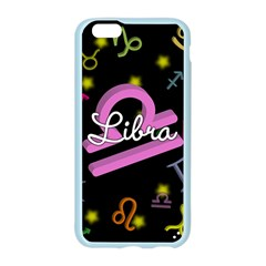 Libra Floating Zodiac Name Apple Seamless iPhone 6/6S Case (Color)