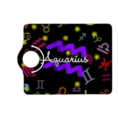 Aquarius Floating Zodiac Name Kindle Fire HD (2013) Flip 360 Case