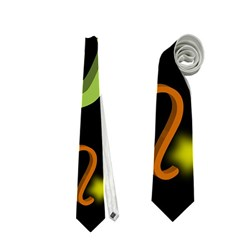 Capricorn Floating Zodiac Name Neckties (Two Side)