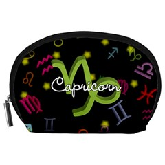 Capricorn Floating Zodiac Name Accessory Pouches (large)
