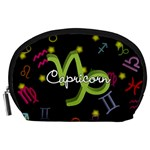 Capricorn Floating Zodiac Name Accessory Pouches (Large)  Front
