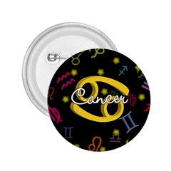 Cancer Floating Zodiac Name 2.25  Buttons