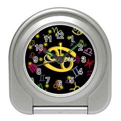 Cancer Floating Zodiac Name Travel Alarm Clocks