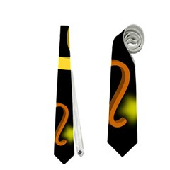 Cancer Floating Zodiac Name Neckties (one Side)