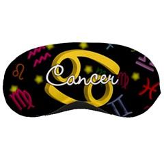 Cancer Floating Zodiac Name Sleeping Masks