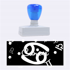 Cancer Floating Zodiac Name Rubber Stamps (Large)