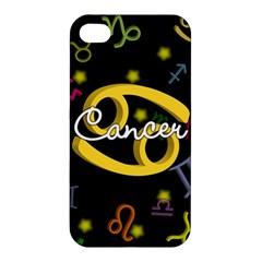 Cancer Floating Zodiac Name Apple iPhone 4/4S Hardshell Case