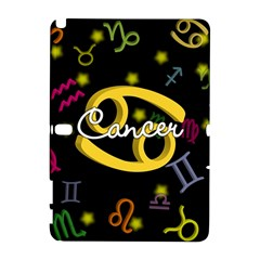 Cancer Floating Zodiac Name Samsung Galaxy Note 10.1 (P600) Hardshell Case