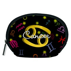 Cancer Floating Zodiac Name Accessory Pouches (Medium)