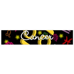Cancer Floating Zodiac Name Flano Scarf (Small)