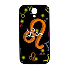 Leo Floating Zodiac Name Samsung Galaxy S4 I9500/I9505  Hardshell Back Case