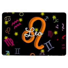 Leo Floating Zodiac Name iPad Air Flip