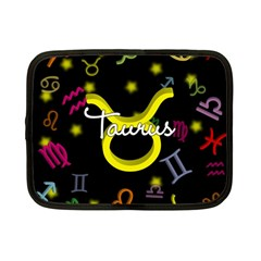 Taurus Floating Zodiac Name Netbook Case (Small)