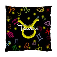 Taurus Floating Zodiac Name Standard Cushion Cases (Two Sides)