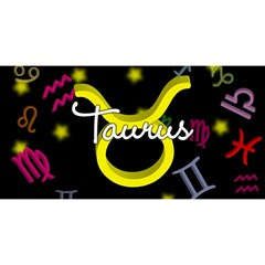 Taurus Floating Zodiac Name YOU ARE INVITED 3D Greeting Card (8x4)