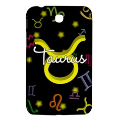 Taurus Floating Zodiac Name Samsung Galaxy Tab 3 (7 ) P3200 Hardshell Case