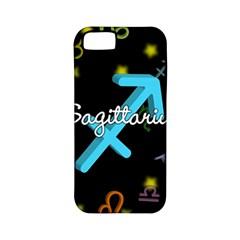 Sagittarius Floating Zodiac Name Apple iPhone 5 Classic Hardshell Case (PC+Silicone)