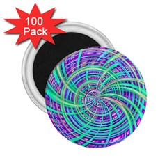 Happy Aqua 2.25  Magnets (100 pack)
