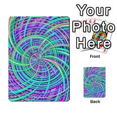 Happy Aqua Multi Purpose Cards (rectangle)
