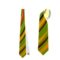 Happy Green Orange Neckties (One Side)