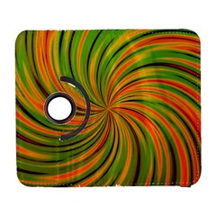 Happy Green Orange Samsung Galaxy S  III Flip 360 Case