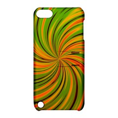 Happy Green Orange Apple iPod Touch 5 Hardshell Case with Stand