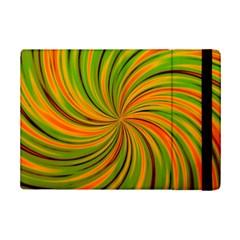 Happy Green Orange iPad Mini 2 Flip Cases