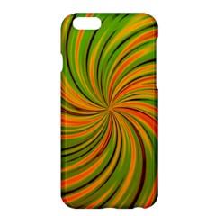 Happy Green Orange Apple Iphone 6 Plus/6s Plus Hardshell Case