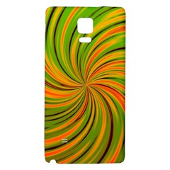 Happy Green Orange Galaxy Note 4 Back Case
