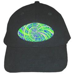 Happy Green Black Cap