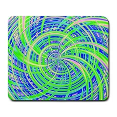 Happy Green Large Mousepads