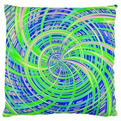 Happy Green Large Cushion Cases (Two Sides)