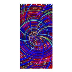 Happy Red Blue Shower Curtain 36  X 72  (stall)