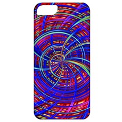 Happy Red Blue Apple iPhone 5 Classic Hardshell Case