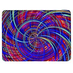 Happy Red Blue Samsung Galaxy Tab 7  P1000 Flip Case