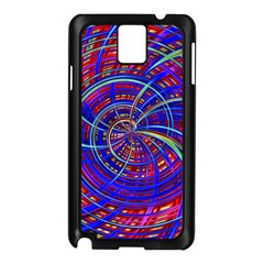 Happy Red Blue Samsung Galaxy Note 3 N9005 Case (Black)