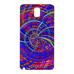 Happy Red Blue Samsung Galaxy Note 3 N9005 Hardshell Back Case