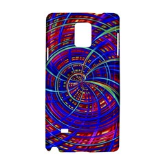 Happy Red Blue Samsung Galaxy Note 4 Hardshell Case